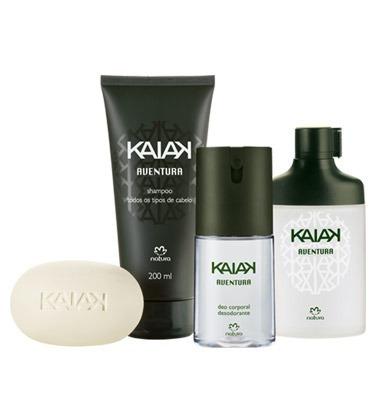 kit kaiak aventura (o perfume é de 25ml) + emb presente
