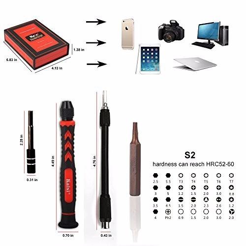 kit kaisi r 38 en 1 herramientas, reparacion de celulares,