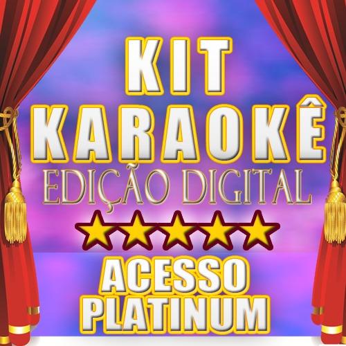 kit karaokê digital - cante em casa / baixe no computador