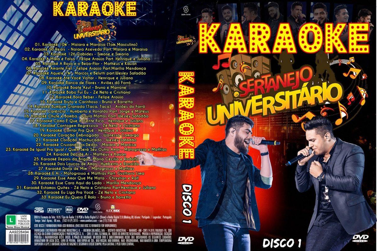 karaoke sertanejo universitario