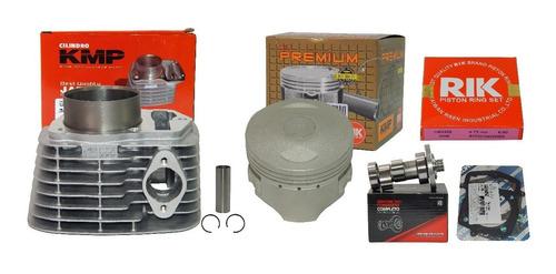 kit kmp premium crf 230 p/ 240 67mm taxado + comando 320