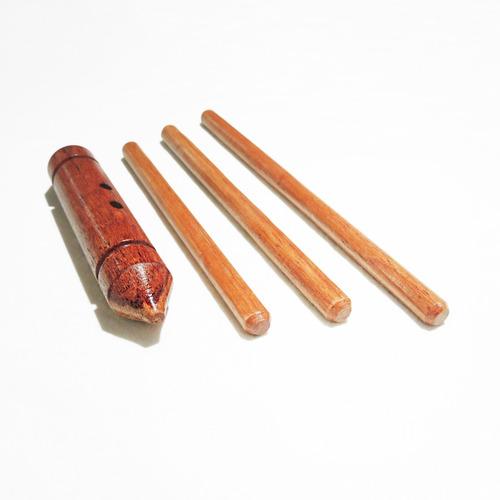 kit kubotan yawara-bô mini bastões de mãos para treino