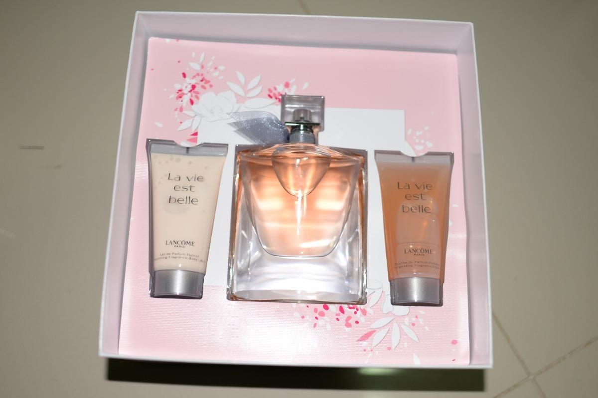 795f2e972 kit la vie est belle lancôme - eau de parfum 100ml. Carregando zoom.