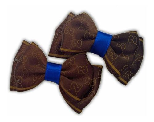 kit lacinhos pet com bico de pato 5 pares