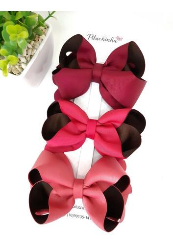 kit laço de cabelo boutique coleção outono inverno