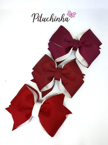 kit laço de cabelo  candy coleção outono e inverno