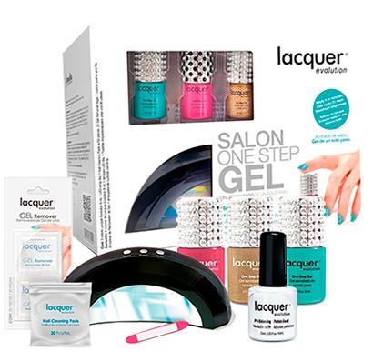 kit lacquer evolution + lampara + regalo * envío gratis*