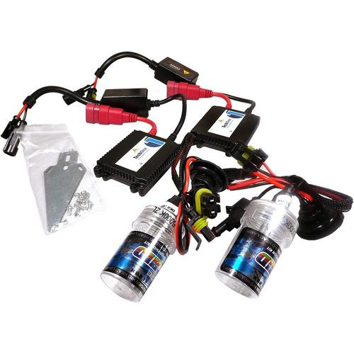 kit lampada bi-xenon hid h4-3 4300k 6000k 8000k reator slim