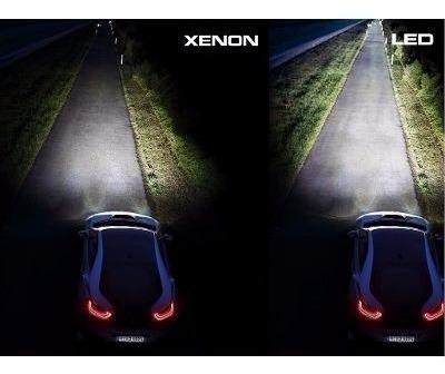 kit lampada led automotiva h1/h3/h4/h7/h11/hb3/hb4/h27 xenon