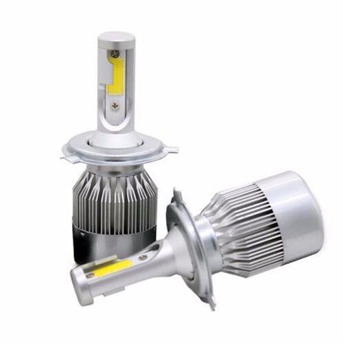 kit lampada led para caminhão 72w 6000k 8200l super branca