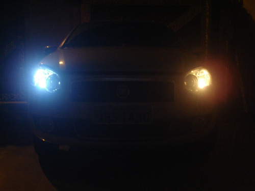 kit lampada led +super branca farol/milha ford new fiesta ka