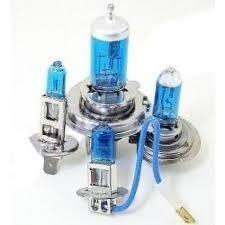 kit lampada super branca h9  55w 12v c/cert do inmetro