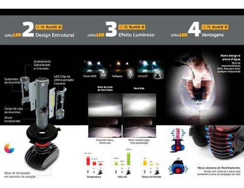 kit lampada ultra led titanium shocklight h1 10000 lumens