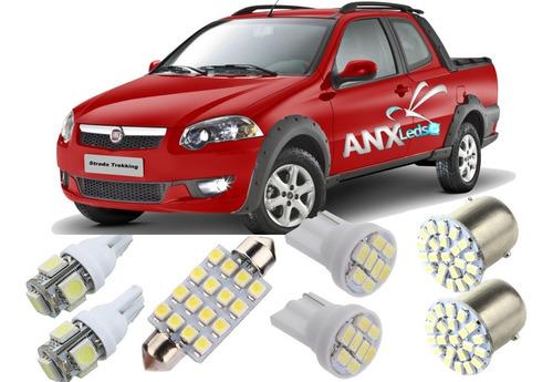 kit lampadas led fiat strada 2007  2013 frete 12,00 promoçao