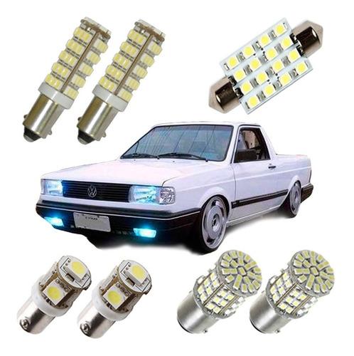 kit lampadas led gol quadrado g1 luz pingo teto placa ré
