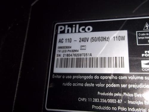 kit lampadas tv lcd philco ph32m4