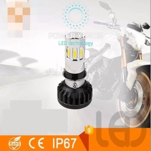 kit lampara led cree moto fz16- bajaj  h4 alta y baja! 201