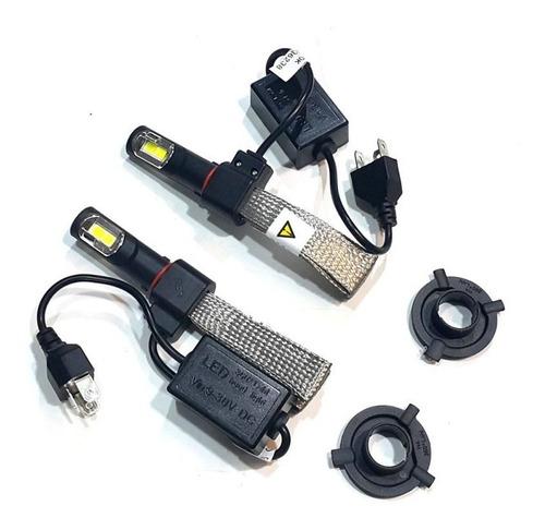 kit lamparas led h4 6000k 12v-24v 40w  - cymaco