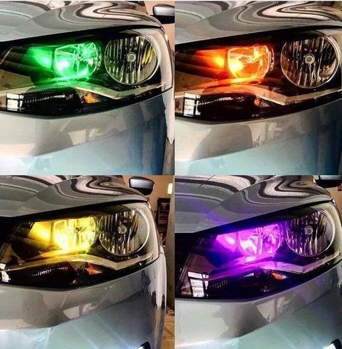 kit lamparas luz led posicion multicolor rgb control remoto