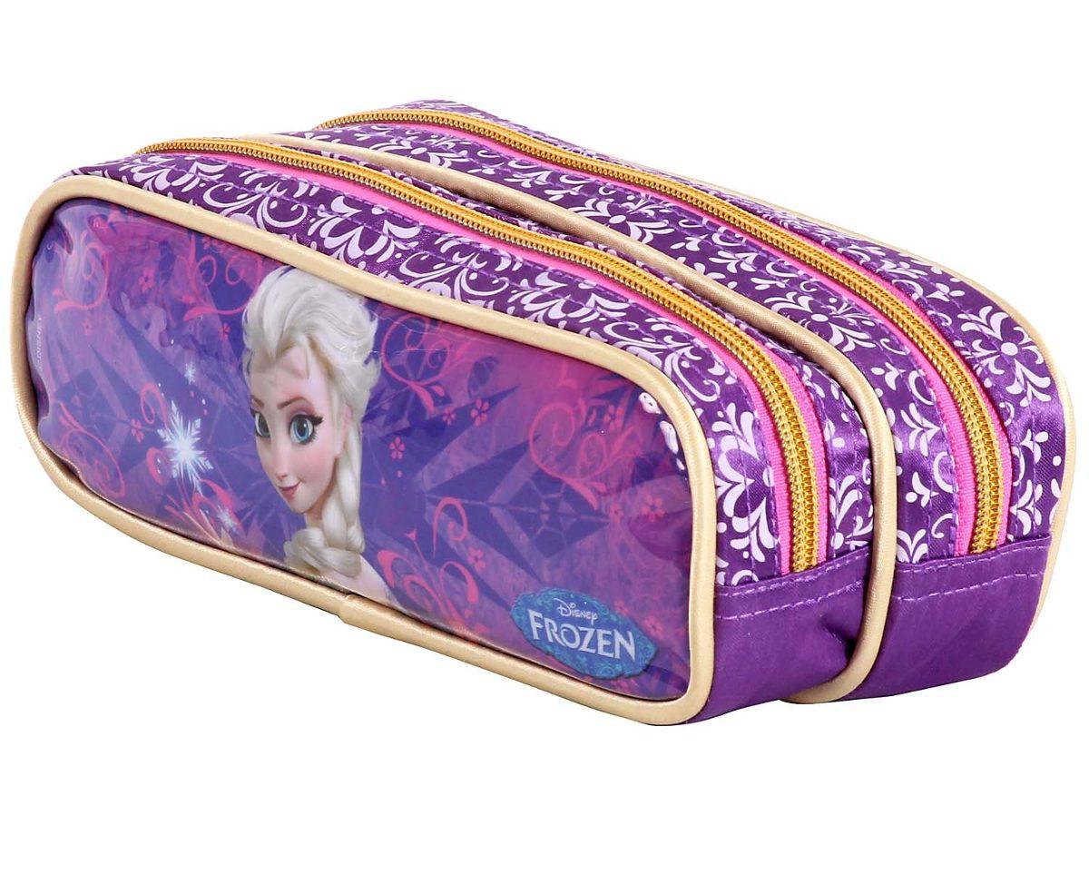 f72890688 Kit Lancheira Estojo Disney Frozen Elsa Dermiwil - R$ 205,00 em ...