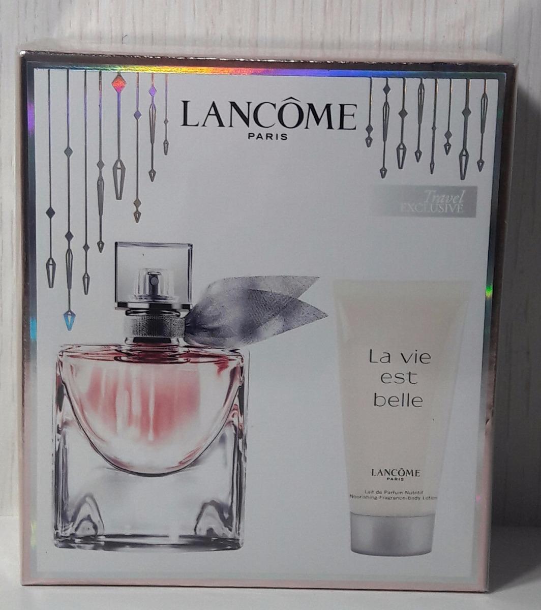 babbaa90b6 kit lancôme la vie est belle eau de parfum 50 ml original. Carregando zoom.