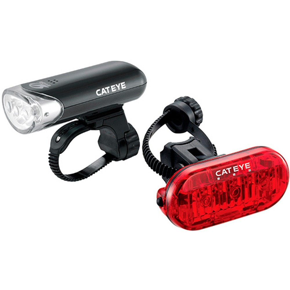 a8556d533 kit lanterna farol bike bicicleta luz cateye el135 ld135r. Carregando zoom.