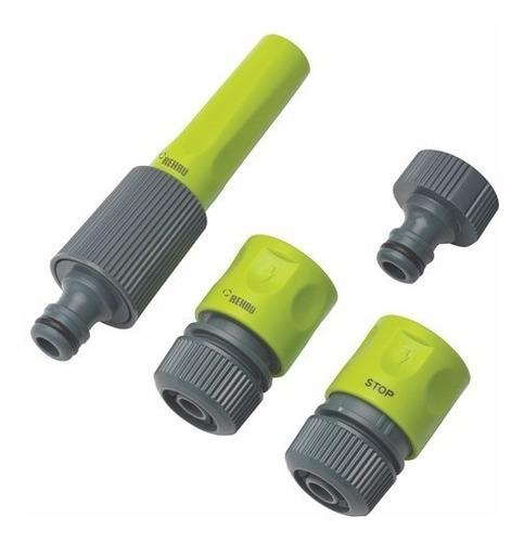 kit lanza de riego para manguera 3/4 acople rehau
