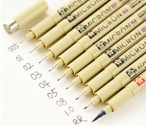 kit lápis desenho profissional 38 peças marco sakura