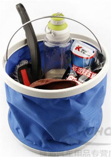 kit lavado manguera xhose hidrolavadora balde plegable 8 en1