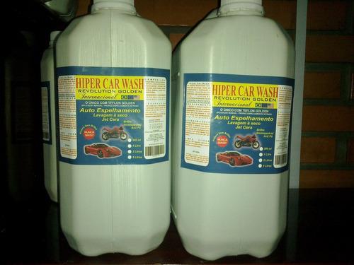 kit lavagem a seco 10 litros rende até 800 lavagens
