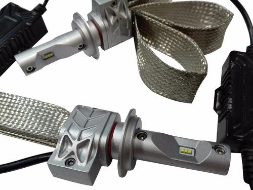 kit led cree 8va generacion lampara h1 h7 h11 9006 auto moto