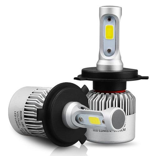 kit led cree cob h1 h3 h7 h11 9006 5202- 16000lm -con cooler