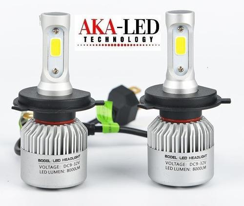 kit led cree h4 alta y baja 10ma gen. 16000lm mas potencia!!