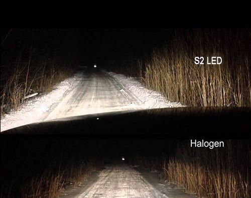 kit led cree led h1 - h11 - 9006 - 40w 16000lm - no c6