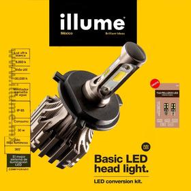 Kit Led Illume Basic + 2 T10 Led Pellizco Premium