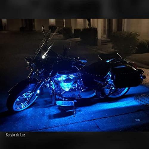 kit led para motocicleta aura, 10 piezas