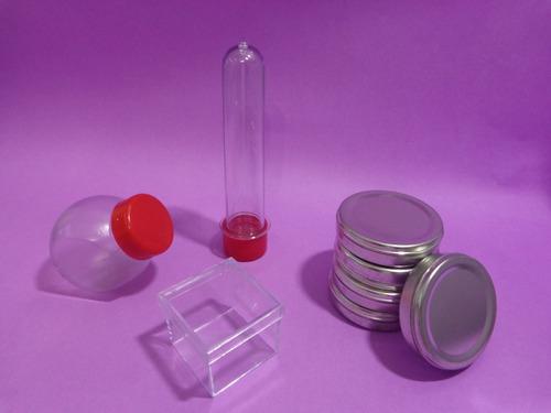 kit lembrancinha 200 pç tubete+mini baleiro+latinha+caixinha