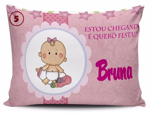 kit lembrancinha 30 almofadas personalizadas maternidade