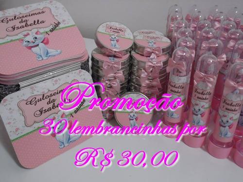 kit lembrancinhas por r$ 30,00