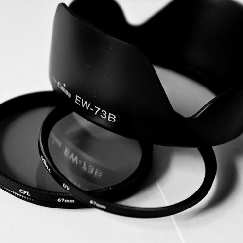 aba43c94eacfe Kit Lente Canon 18-135mm Is Parasol Ew-73b Filtro Uv Cpl T3i - R ...