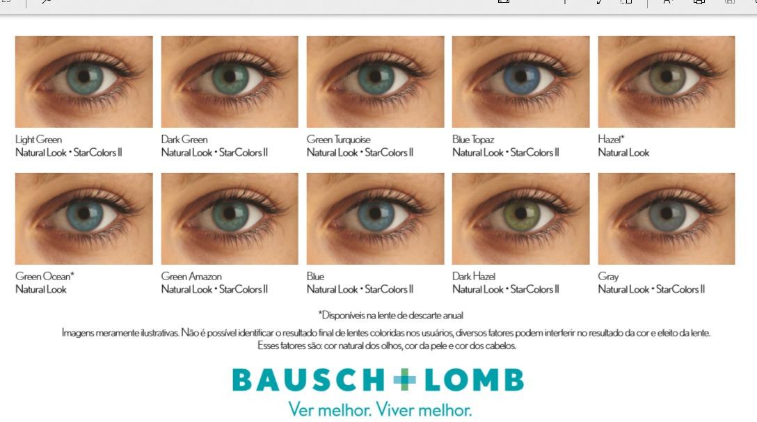 1332283df614f kit lente de contato natural look anual bausch + renu 120ml. Carregando zoom .