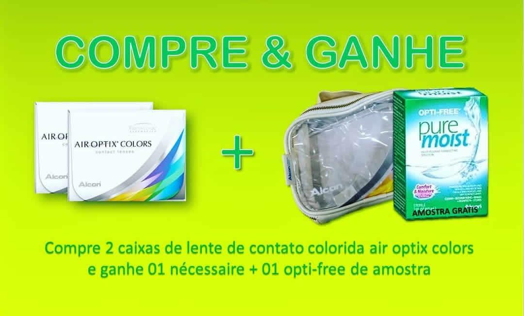 ed9db301e6fa1 Kit Lentes De Contato Air Optix Colors ( Freshlook) - R  196,00 em ...