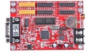 kit letrero led pasamensajes 4 paneles 16x32 p12.5 rs232