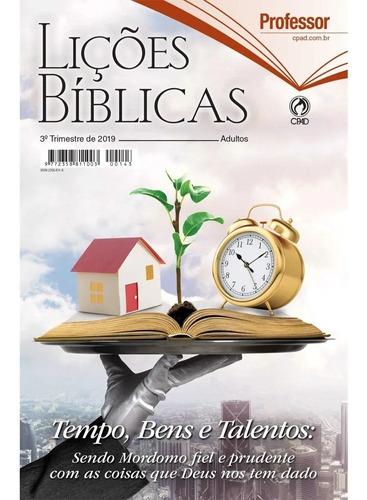 kit lições bíblicas adulto 3° tr 2019 3 professor