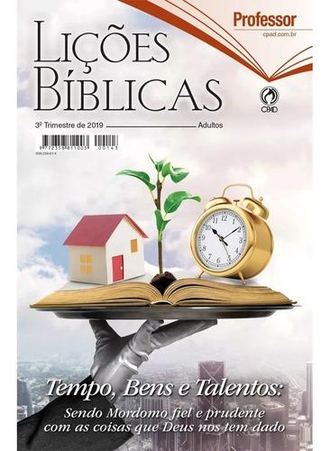 kit lições bíblicas adulto 4°tr 2019 24 aluno + 4 professor