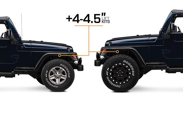 Kit Lift Sky Jacker 4 Black Max   Jeep Wrangler