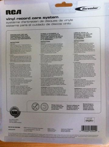 kit limpa disco de vinil - importado