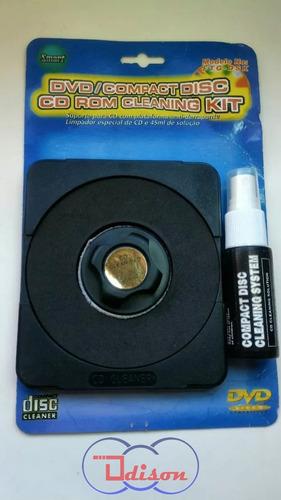 kit - limpador cd/dvd/cd rom