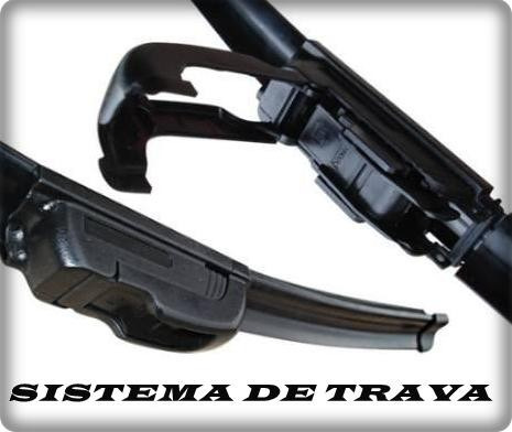 kit limpador para-brisas sandero dianteiros silicone