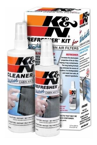 kit limpeza de filtro de ar condicionado k&n spray 99-6000